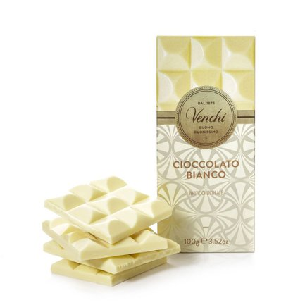 Tafel weiße Schokolade extrafein  100g