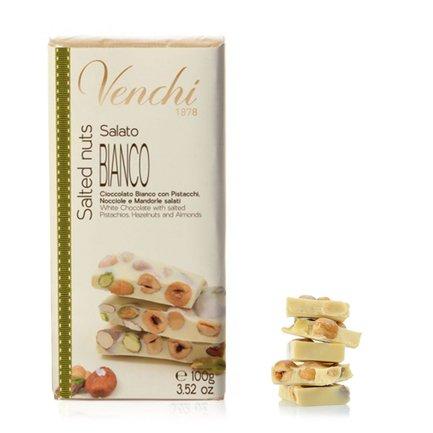 Tafel weiße Schokolade mit Pistazien 100 g