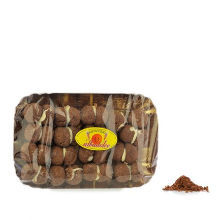 Dunkle Baci di Dama (Haselnussgebäck) 250 g