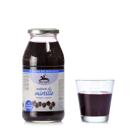 Biologischer Blaubeernektar 500 ml