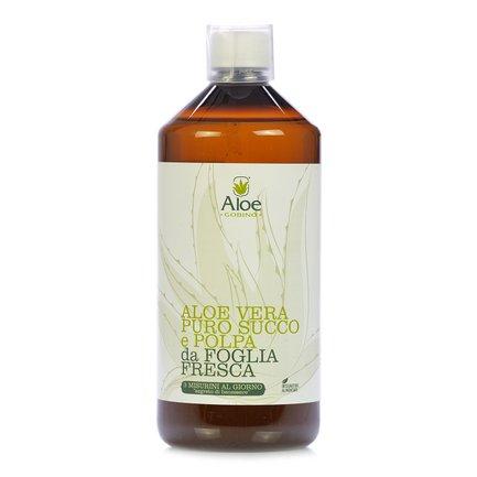 Aloe Vera-Saft mit Fruchtfleisch 1 l