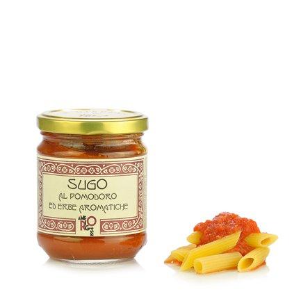 Tomatensauce mit aromatischen Kräutern 180 g