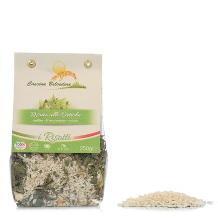 Brennnessel-Risotto  250g