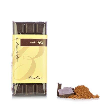 Tafel Bitterschokolade Cuba 70%  100gr