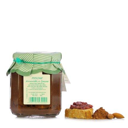 Pfirsiche, Amaretti und Kakao 500 g
