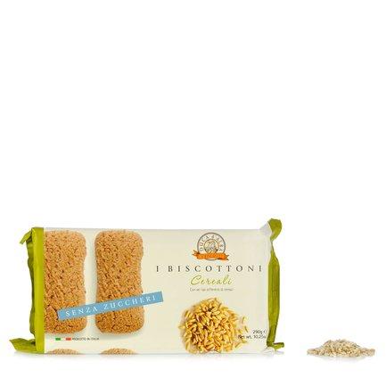 Biscottoni aus Cerealien ohne Zucker  290g