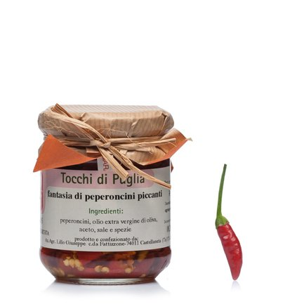 Fantasia di Peperoncini piccanti 190 g 190g
