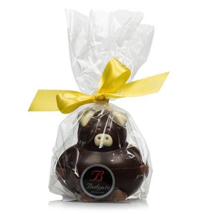 Pummelige Schweinchen aus Zartbitterschokolade 130g
