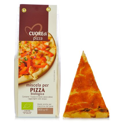 Bio-Backmischung für Pizza 500 g 500g