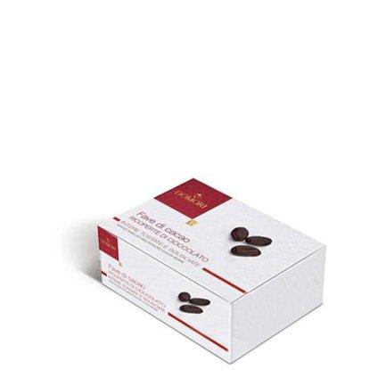 Kakaobohnen mit Schokoüberzug  100g