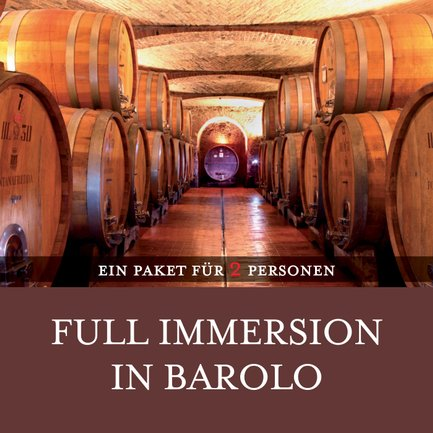 Full Immersion In Barolo