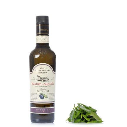 Extra natives Olivenöl aus schwarzen Oliven 0,5 l