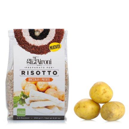 Risotto mit Stockfisch und Kartoffeln 250 g