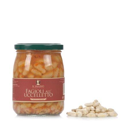 Weiße Bohnen mit Salbei-Tomatensoßee 500 g