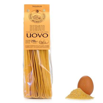 Eier-Tagliolini mit Weizenkeimen  250gr
