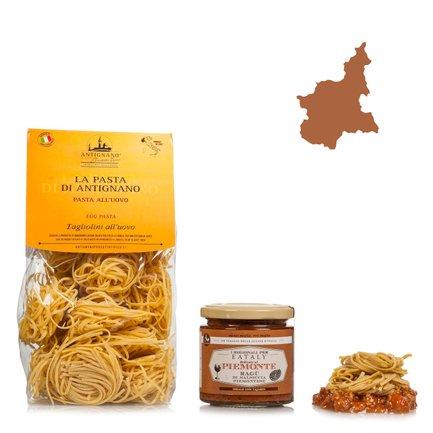 Das perfekte Pastagericht im Piemont