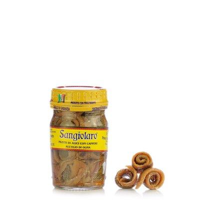 Sardellenfilets mit Kapern 80 g