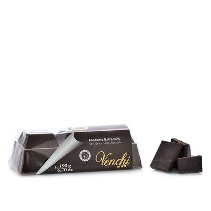 Block Zartbitterschokolade 56% 190 g