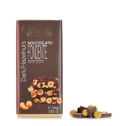 Zartbitterschokolade mit Haselnuss 100 g