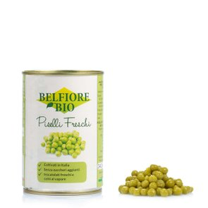 Frische Bio-Erbsen 340 g
