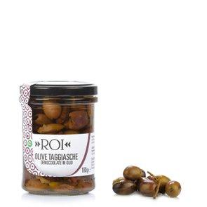 Entsteinte Taggiasca-Oliven in Öl 180 g