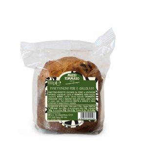 Panettoncino mit Birnen und Schokolade   100g
