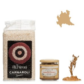 Das perfekte regionale Gericht in der Lombardei