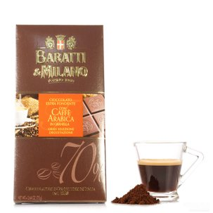 Zartbitterschokolade mit Arabica-Kaffee  75g