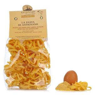 Tagliatelle (Eiernudeln) mit Mehl aus Mais Otto File  250gr
