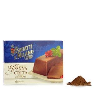 Dessertmischung für Schokoladen-Panna Cotta 80 g