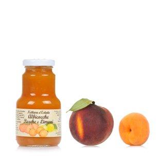 Aprikosen, Pfirsich- und Zitronennektar 200 ml