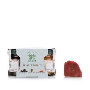 Dreierlei Saucen zu Fleischtöpfen 110 g