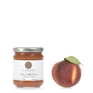 Konfitüre aus weißen Pfirsichen 230 g