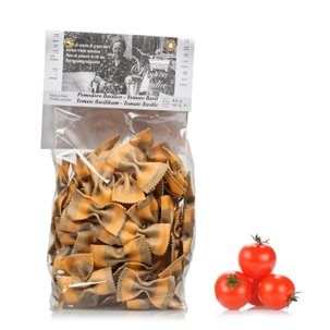 Farfalle mit Tomate und Basilikum  250g