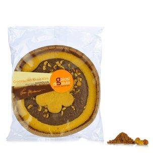 Mürbeteigkuchen mit Nougatcreme 300 g