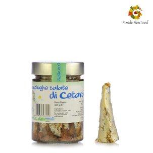 Gesalzene Sardellen von Cetara 410 g