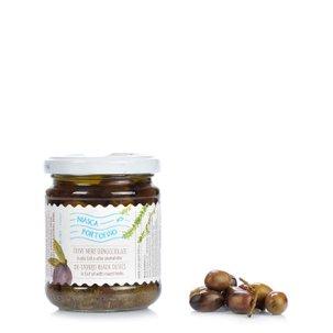 Entsteinte Oliven in Kräutern  180g