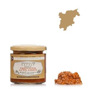 Wildragù mit Reh- und Hirschfleisch 210 g