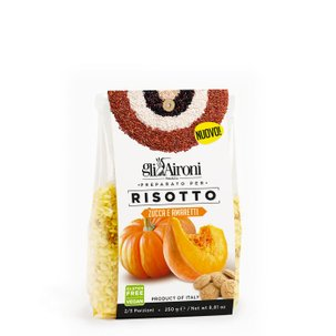 Risotto mit Kürbis und Amaretti  250g