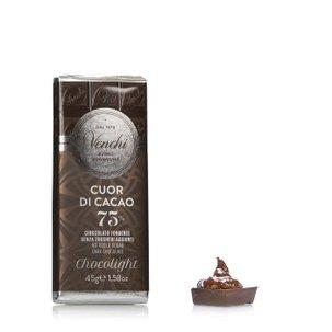 Tafel Zartbitterschokolade Light 45 g