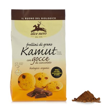Kamut shortbread with chocolate chips 300g