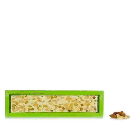 Crumbly Almond and Pistachio Nougat 180g