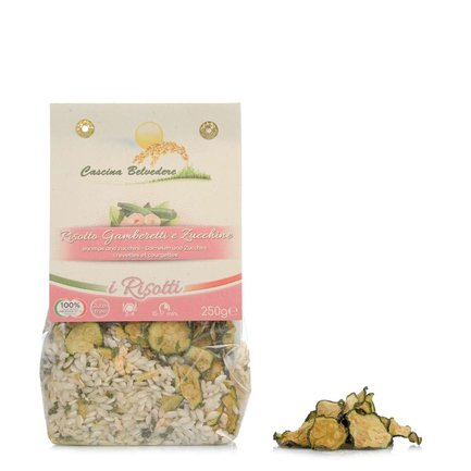 Prawn and Courgette Risotto 250g