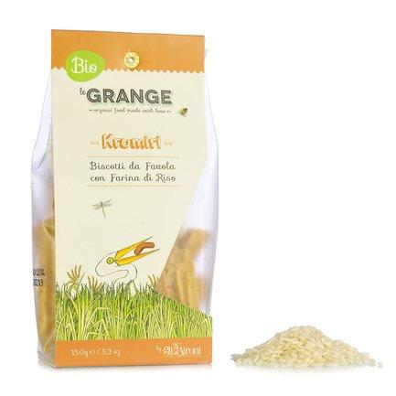 Organic Rice Krumiri Biscuits 150g