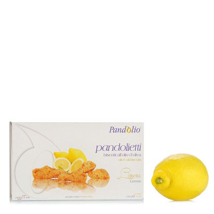 Lemon Pandolietti Biscuits 170g