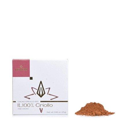 100% Criollo Chocolate Bar 25g