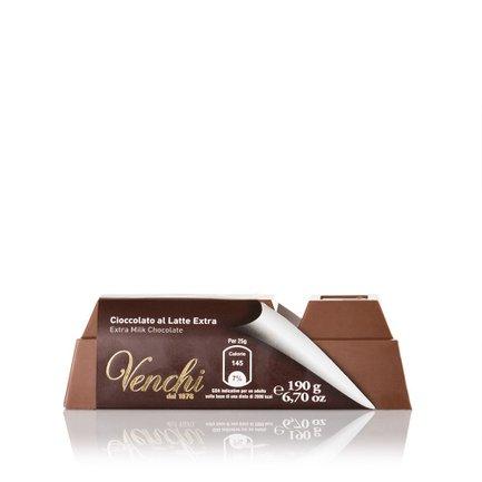Extra Fine Milk Chocolate Block 190g