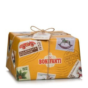 Panettone with marrons glacés