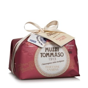 Panettone with Fabbri amarena cherries 1 Kg