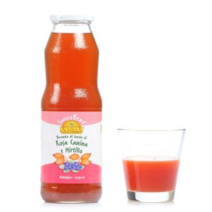 Succobene Wildrose and Cranberry Juice 0.75 l